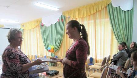Благодарят Мухину Татьяну Ивановну за активное участие в жизни детского сада